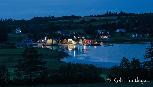 Twilight at French River Harbour, PEI