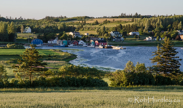 Evening in French River, PEI.
