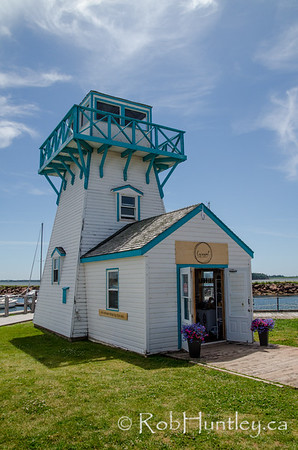 Lighthouse at Summerside seaside market.