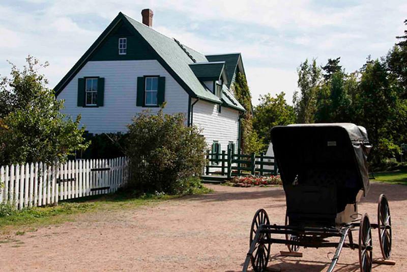 The actuel Green Gables house