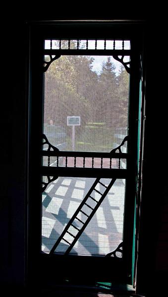 Matthew's screen door