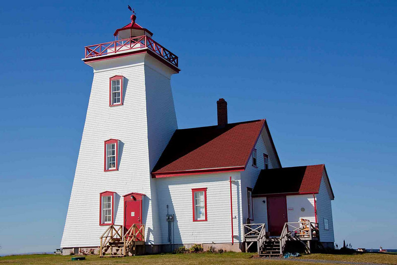 Lighthouse at southernmost point on PEI<br /> Very near Borden-Carelton Gateway Village