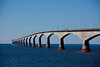 The 12-mile bridge from NS to PEI, from PEI looking toward NS. The toll is $42, payable on the way back to NS.