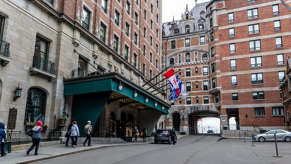 Main Entrance, Hotel Frontenac