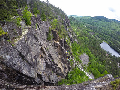 "The ""Death Bridge"" at Les Palissades de Charlevoix"
