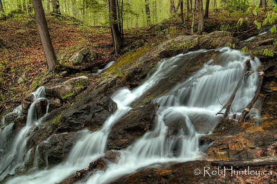 Bridal Veil Falls at Mackenzie King Estate, Gatineau Park.  This photo is similar to a photo that can be licensed from Getty Images  © Rob Huntley