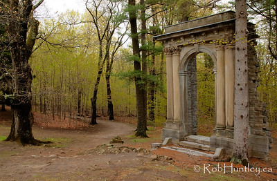 Part of the collection of ruins at the Mackenzie King Estate, Gatineau Park.  License this photo on Getty Images  © Rob Huntley