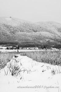 Mont Yamaska gelé