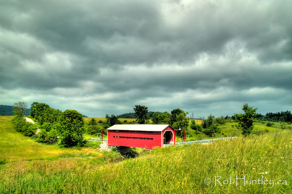 Red Covered Bridge near Wakefield.