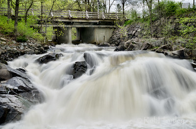 The waterfalls on Riviere La Peche near Wakefield Inn.  © Rob Huntley
