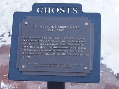 "The Ghosts of Red Deer - ""Reverend Leonard Gaetz"""