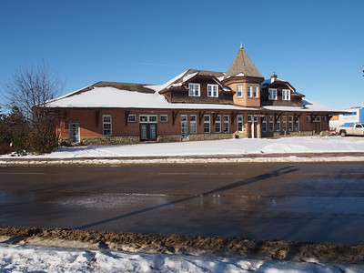The Old Red Deer CPR Railway Station