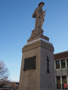 The Red Deer Cenotaph