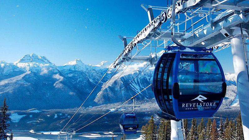 Revelstoke Mountain Resort Gondola