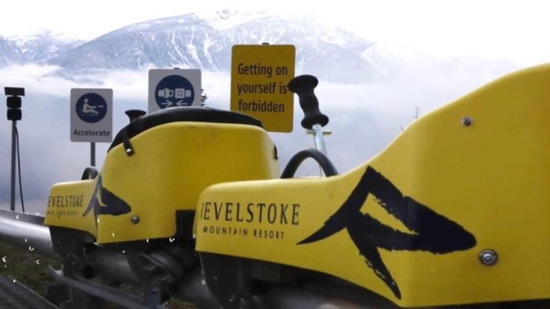 The Pipe Mountain Coaster GoPro Video