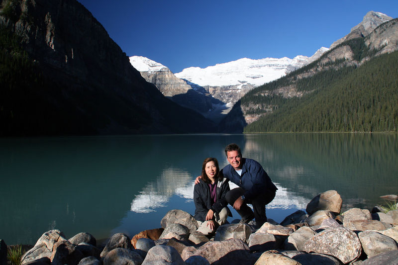Lake Louise is one place in the world that can genuinely offer spectacular natural mountain scenery, abundant wildlife, four-season recreation and world-class accommodation in a protected National Park setting (Banff National Park, a UNESCO World Heritage Site).