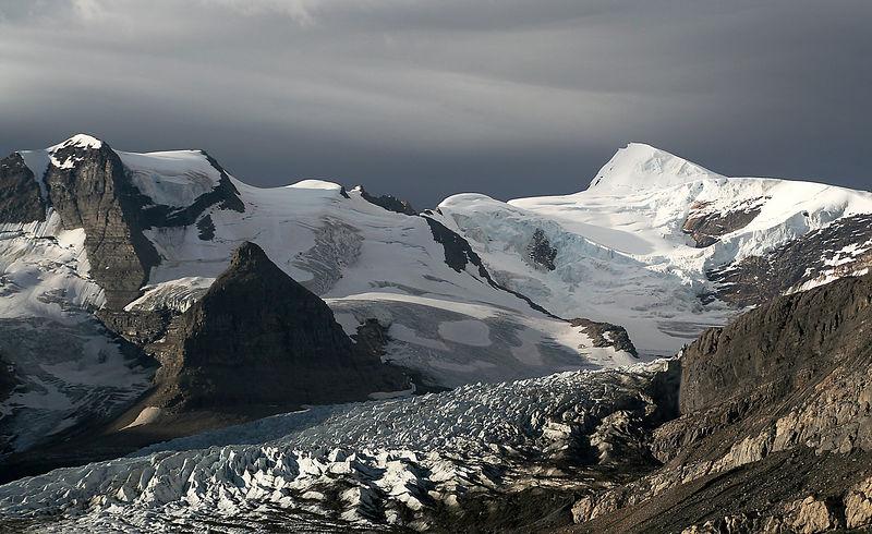 Robson Glacier.