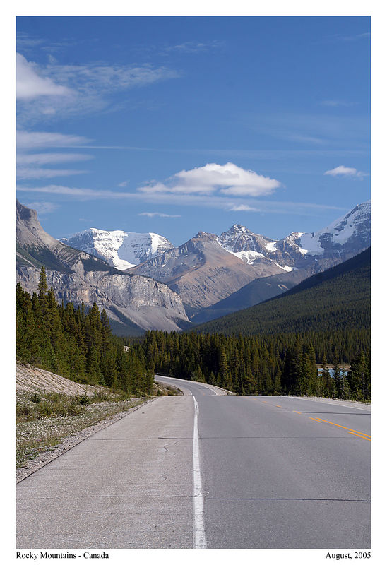 Is this the most beautiful road in the Rocky Mountains and even the world? The Icefields Parkway traces 230 kilometres to commemorate Canada's powerful natural landscape.