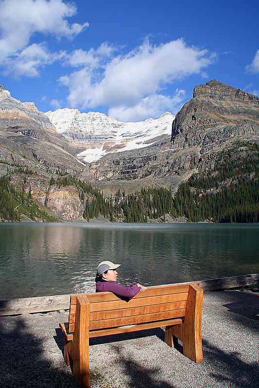 18km, 4 large alpine lakes (O'Hara, Oesa, Opabin, McArthur), countless creeks and ponds, 3 alpine routes, and finally a rest at the starting point: Lake O'Hara.