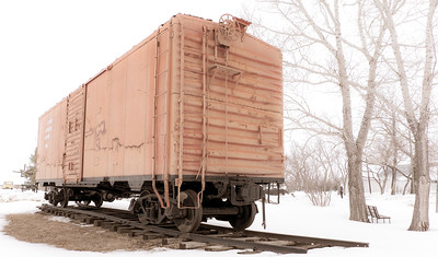 """Yesteryear Artifacts Museum"" Railway Car"