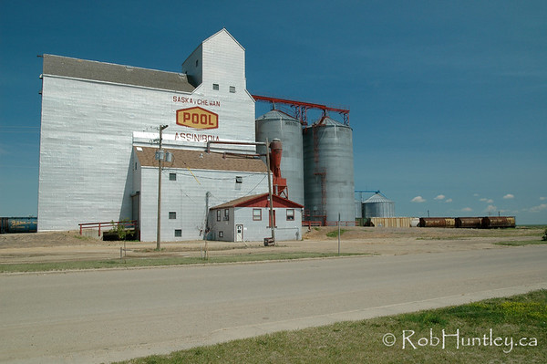 Grain elevator in Assiniboia, Saskatchewan