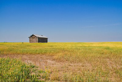 A Barn on the Prairie