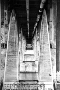 Under Urban Bridge