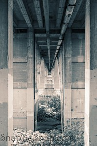 Under Urban Bridge