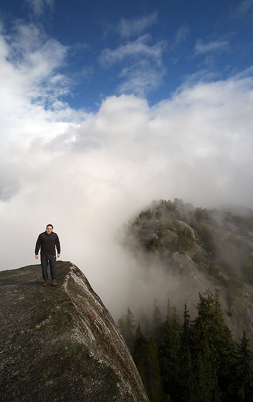 Squamish boasts some of the best rock climbing in North America.