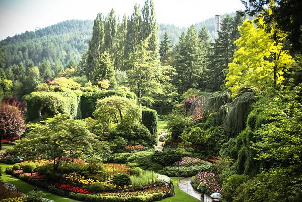 The Butchart Gardens 2013