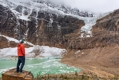 Mt Edith Cavell & Angel Glacier