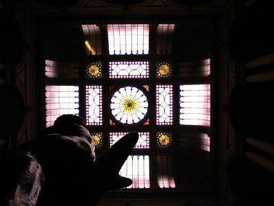 up the rotunda ;0