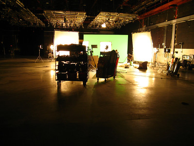 another studio with light adjustment in cameras