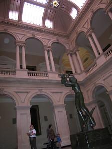 Inside Osgoode Hall...