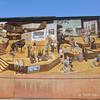 History of Toronto mural at the Toronto Sun