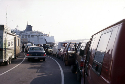 Ferry wait