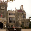 Casa Loma viewed from the front entrance.
