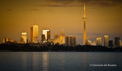 Toronto Skyline at sunset