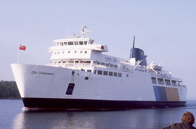 Chi-Cheemaun Ferry Service Provides ferry service between Manitoulin Island and Tobermory.