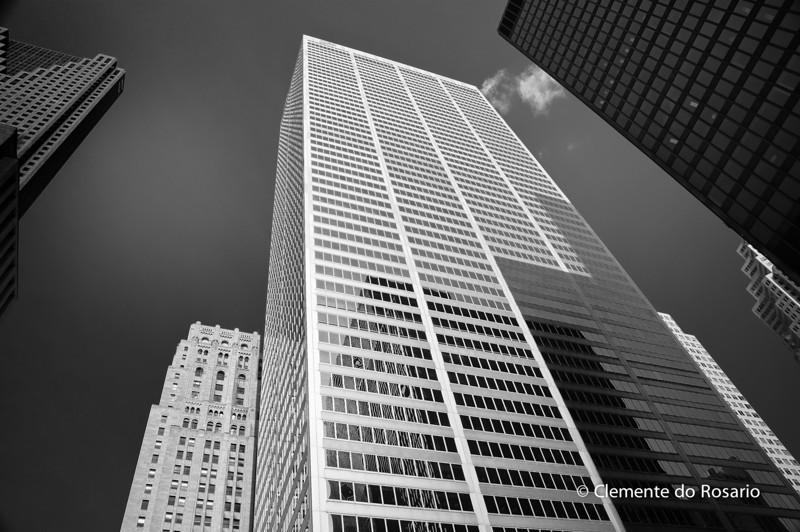 Bank Towers, downtown Toronto, Ontario, Canada