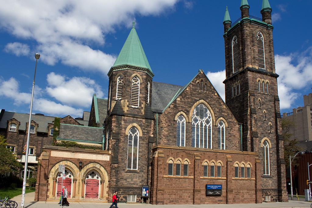 Bloor Street United Church.  300 Bloor Street West