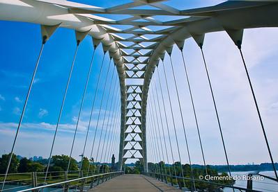 Humber Bay Arch Bridge,Toronto, Ontario