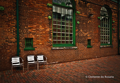 Historic Distillery District in Toronto, Ontario, Canada