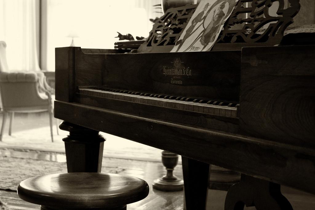 A Piano in Lady Pellatt's Suite
