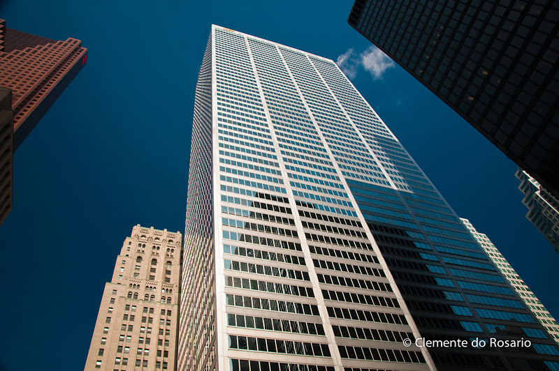 Bank Towers downtown Toronto Ontario, Canada