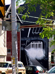 Street Mural, Toronto Canada