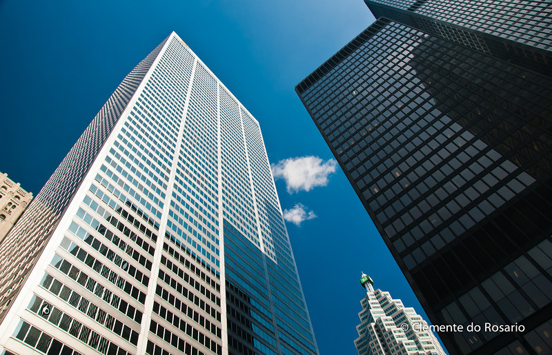 Bank Towers, downtown Toronto, Ontario, Canada