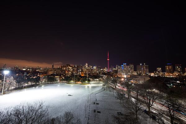 Toronto skyline from Stafford