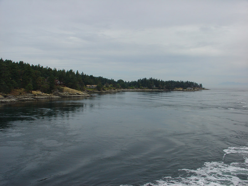Ferry trip to Vancouver Island, British Columbia