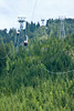 The tram that took us to the top of Grouse Mountain